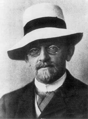 Portrait of David Hilbert