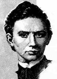 Portrait of János Bolyai