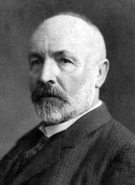 Portrait of Georg Cantor
