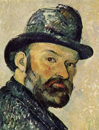 Portrait of Paul Cezanne