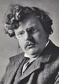 Portrait of Gilbert Keith Chesterton