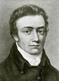 Portrait of Samuel Taylor Coleridge