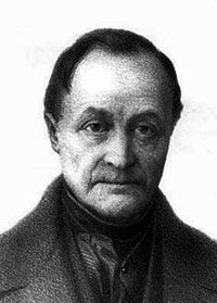 Portrait of Auguste Comte