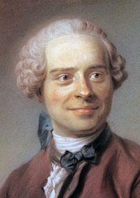 Portrait of Jean D'Alembert