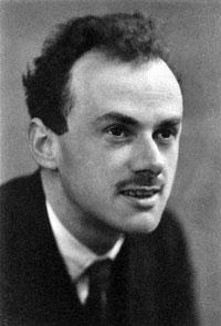 Portrait of Paul Dirac