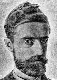 Portrait of M.C. Escher