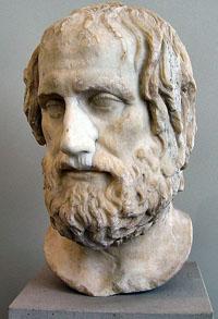 Portrait of Euripides