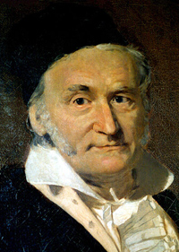 Portrait of Carl Friedrich Gauss