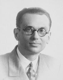 Portrait of Kurt Gödel