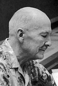 Portrait of Robert Heinlein