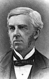 Portrait of Oliver Wendell Holmes