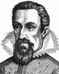 Portrait of Johannes Kepler