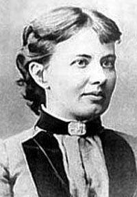 Portrait of Sofia Kovalevskaïa