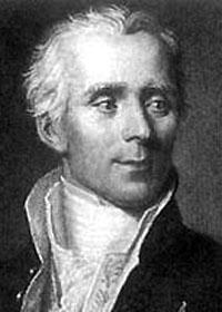 Portrait of Pierre Simon Marquis de Laplace