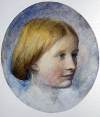 Portrait of Rose La Touche
