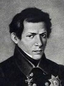 Portrait of Nikolai Lobachevsky