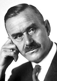 Portrait of Thomas Mann