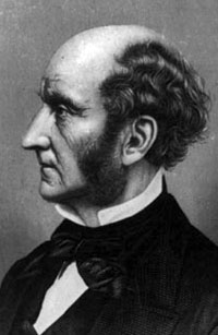 Portrait of John Stuart Mill