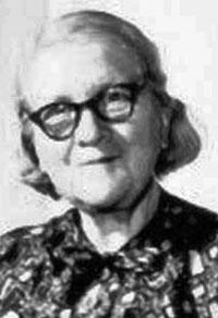 Portrait of Rózsa Péter