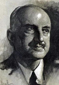 Portrait of George Santayana