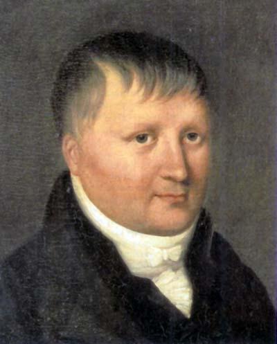 Portrait of Karl Wilhelm Friedrich von Schlegel