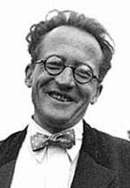 Portrait of Erwin Schrödinger