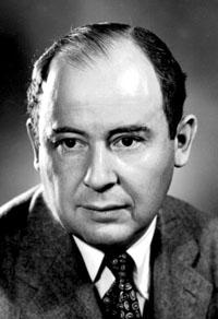 Portrait of John von Neumann